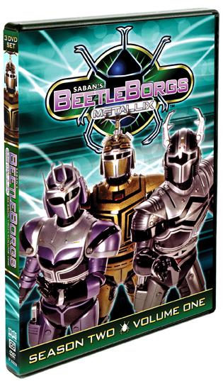 Beetleborgs Metallix: Season Two, Vol. 1