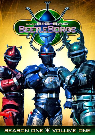 Big Bad Beetleborgs: Season One, Vol. 1