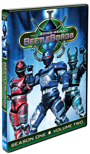 Big Bad Beetleborgs: Season One, Vol. 2