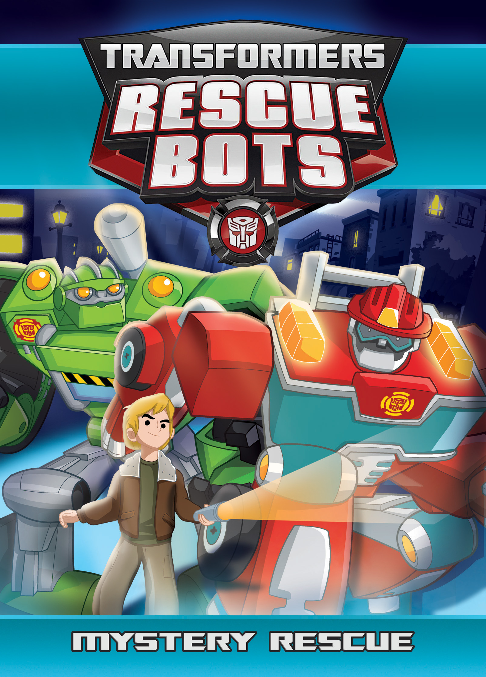 transformers rescue bots mystery rescue dvd shout factory