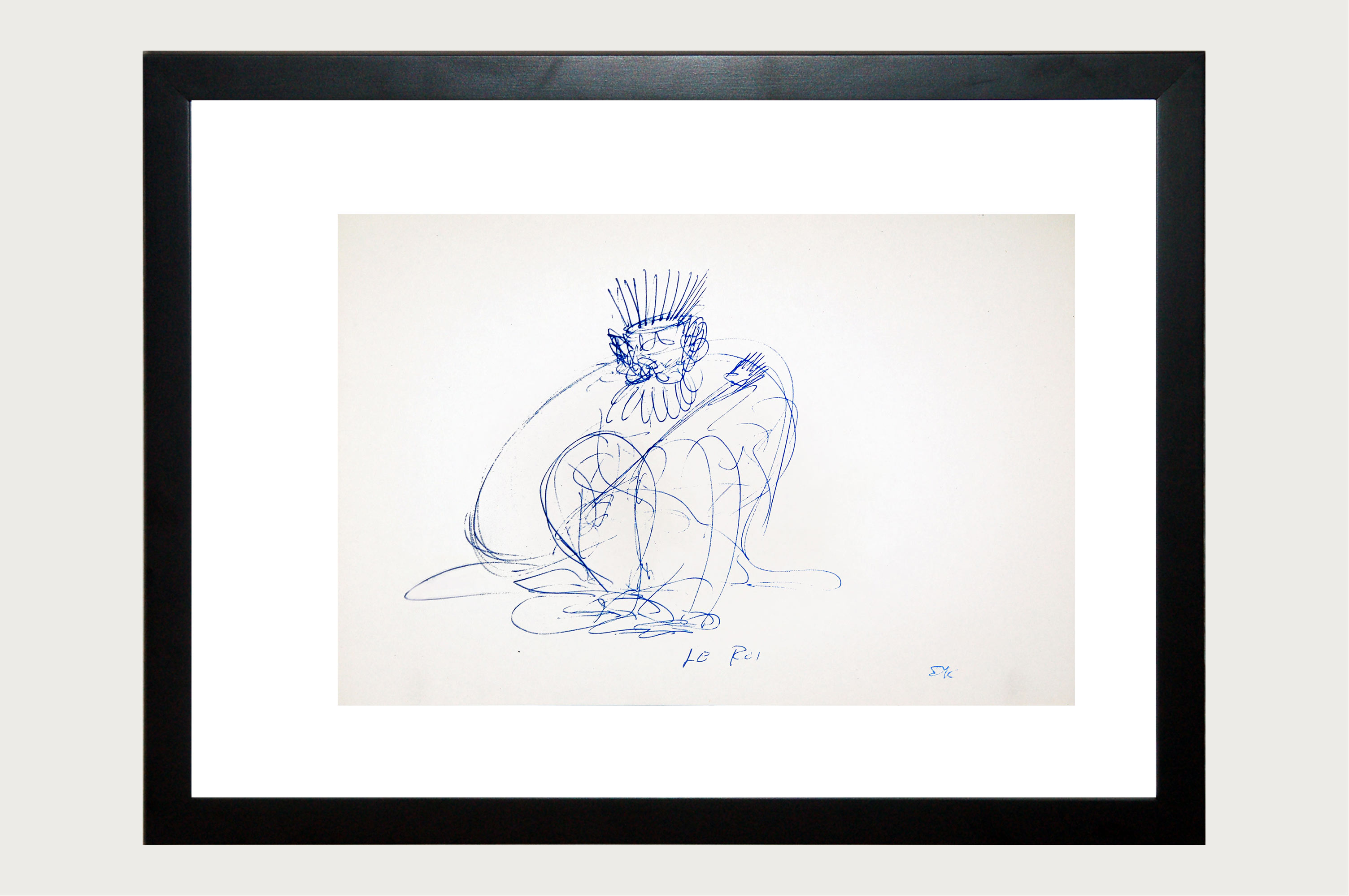 Ernie Kovacs Limited Edition Set Of Ten Lithographs [Framed]