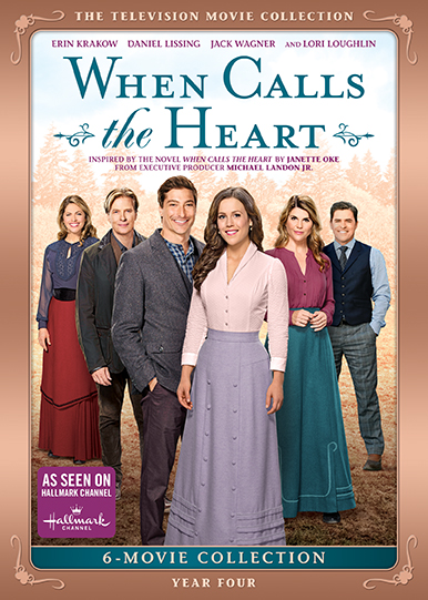 When Calls The Heart Year Four The Television Movie Collection Dvd Shout Factory