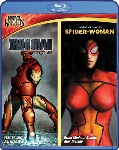 Iron Man: Extremis / Spider-Woman: Agent Of S.W.O.R.D. [Double Feature]
