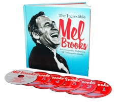 The Incredible Mel Brooks: An Irresistible Collection Of Unhinged Comedy