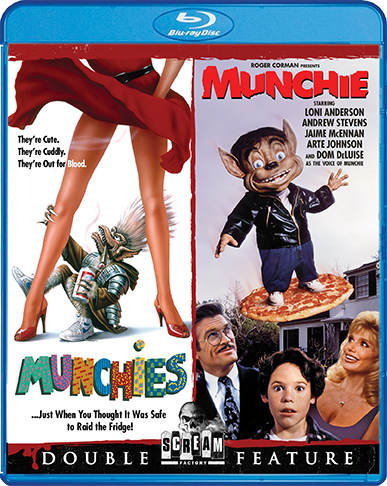 Munchies / Munchie [Double Feature]