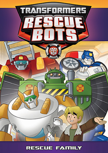 transformers rescue bots rescue family dvd shout factory