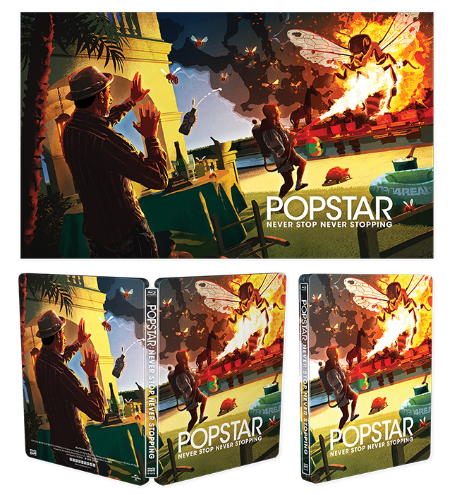 Popstar: Never Stop Never Stopping [Limited Edition Steelbook] + Exclusive Lithograph