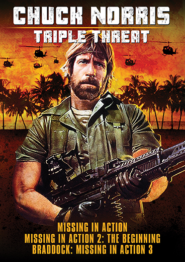 Chuck Norris: Triple Threat [The Missing In Action Trilogy]