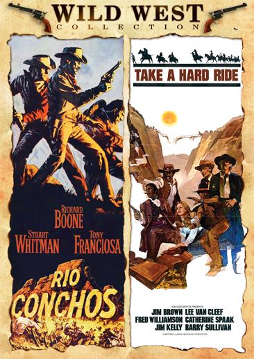 Rio Conchos / Take A Hard Ride [Double Feature]