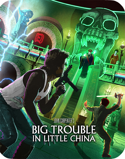Big Trouble In Little China [Collector's Edition] + [Limited Edition Steelbook] + Exclusive Poster + Lithograph + Vinyl