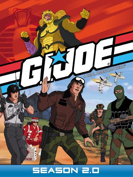 g i joe a real american hero season 2 0 dvd shout factory